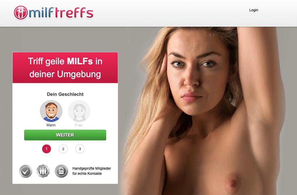 Auf MILFtreffs triffst du in erster Linie MILFs, Hausfrauen und reifere Frauen für diskrete Fickdates