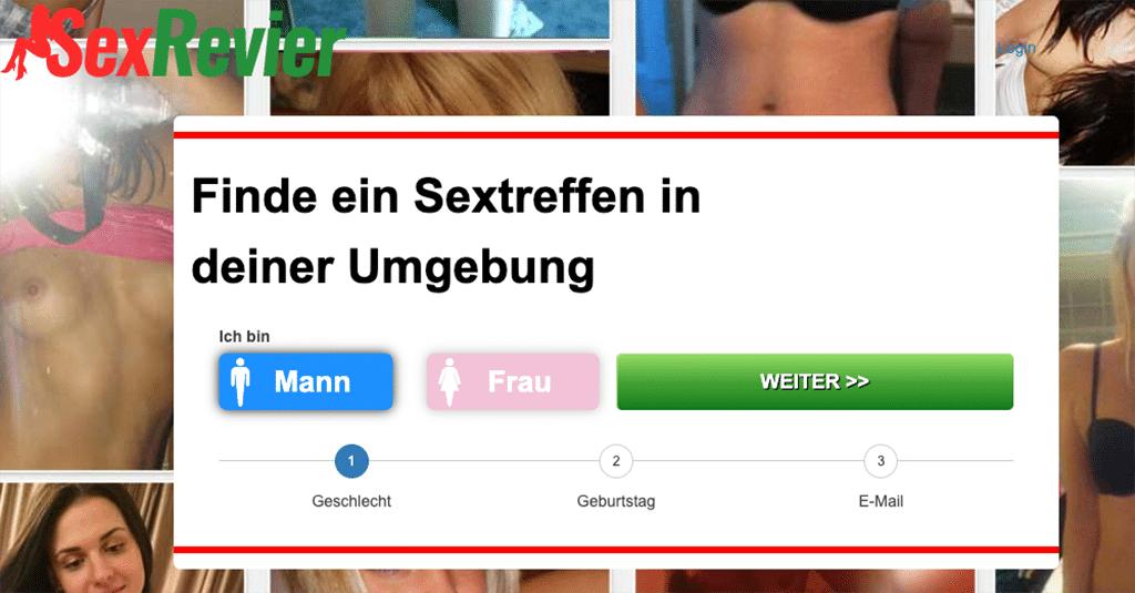 Auf Sexrevier gibt es kostenlose Sextreffen in kürzester Zeit