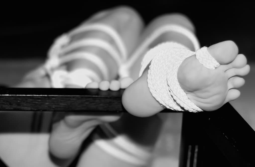 Auch beim BDSM kann man seine Vorliebe für Füße ausleben