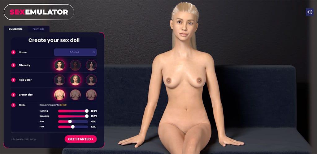 SexEmulator ist der beliebteste 3D Sex Game Simulator überhaupt
